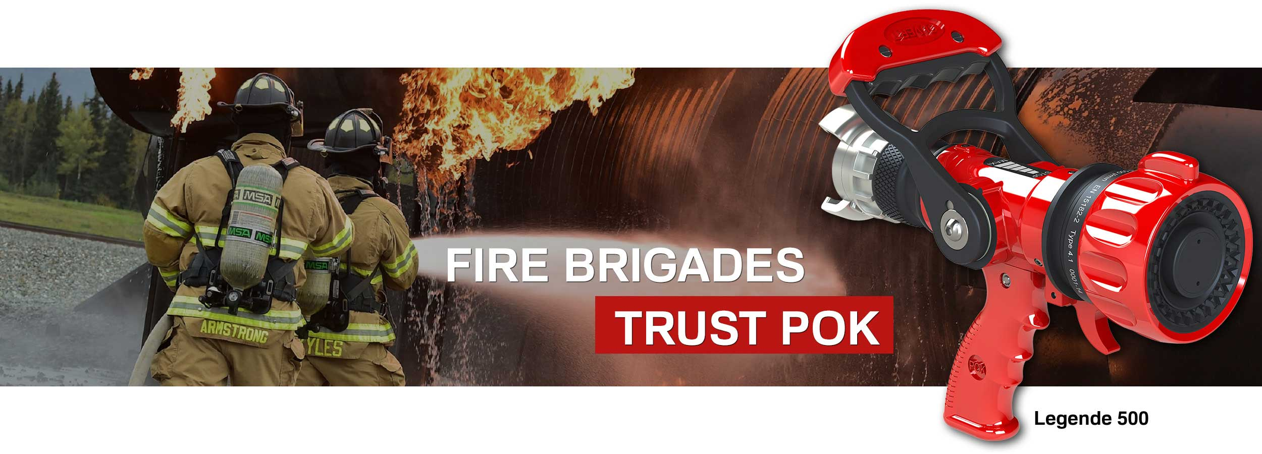 POK - Manufacturer of firefighting equipment - Home